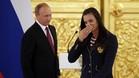 Isinvayeva, una de las damnificadas por la exclusi�n de los atletas rusos en R�o, junto a Putin