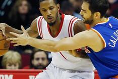 Jos� Manuel Calder�n, de menos a m�s en los New York Knicks