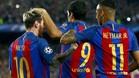 Las estrellas del FC Barcelona llaman la atenci�n de los aficionados