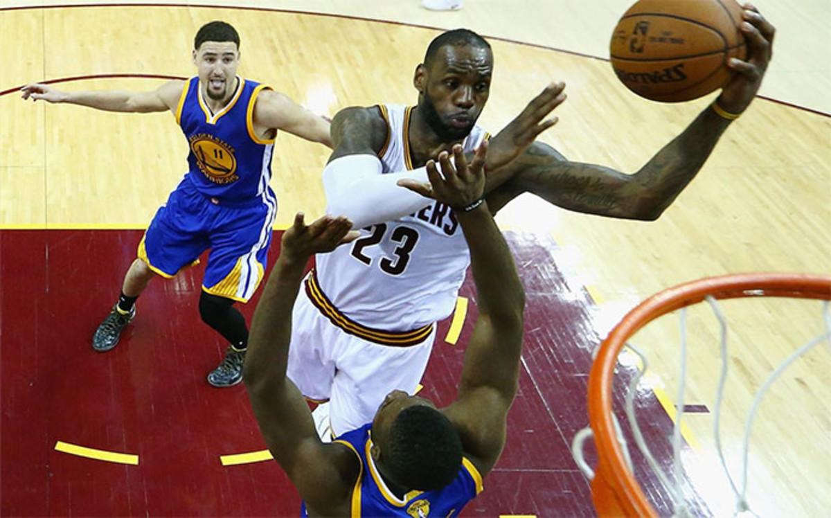 LeBron es el rey; Curry y Durant, la pareja letal