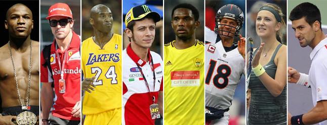 Los sueldos m�s altos del mundo del deporte