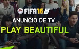 Messi es el protagonista del spot de FIFA 16