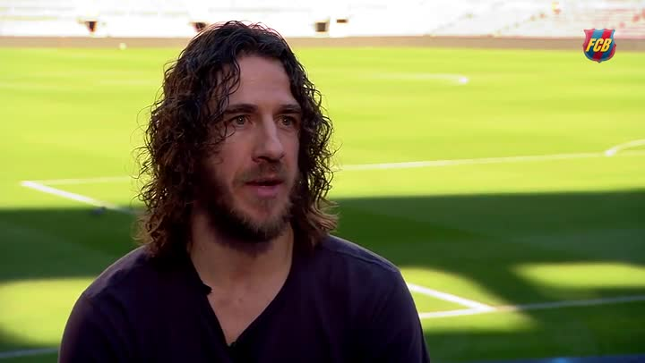 The 39-year old son of father (?) and mother(?), 175 cm tall Carles Puyol in 2017 photo