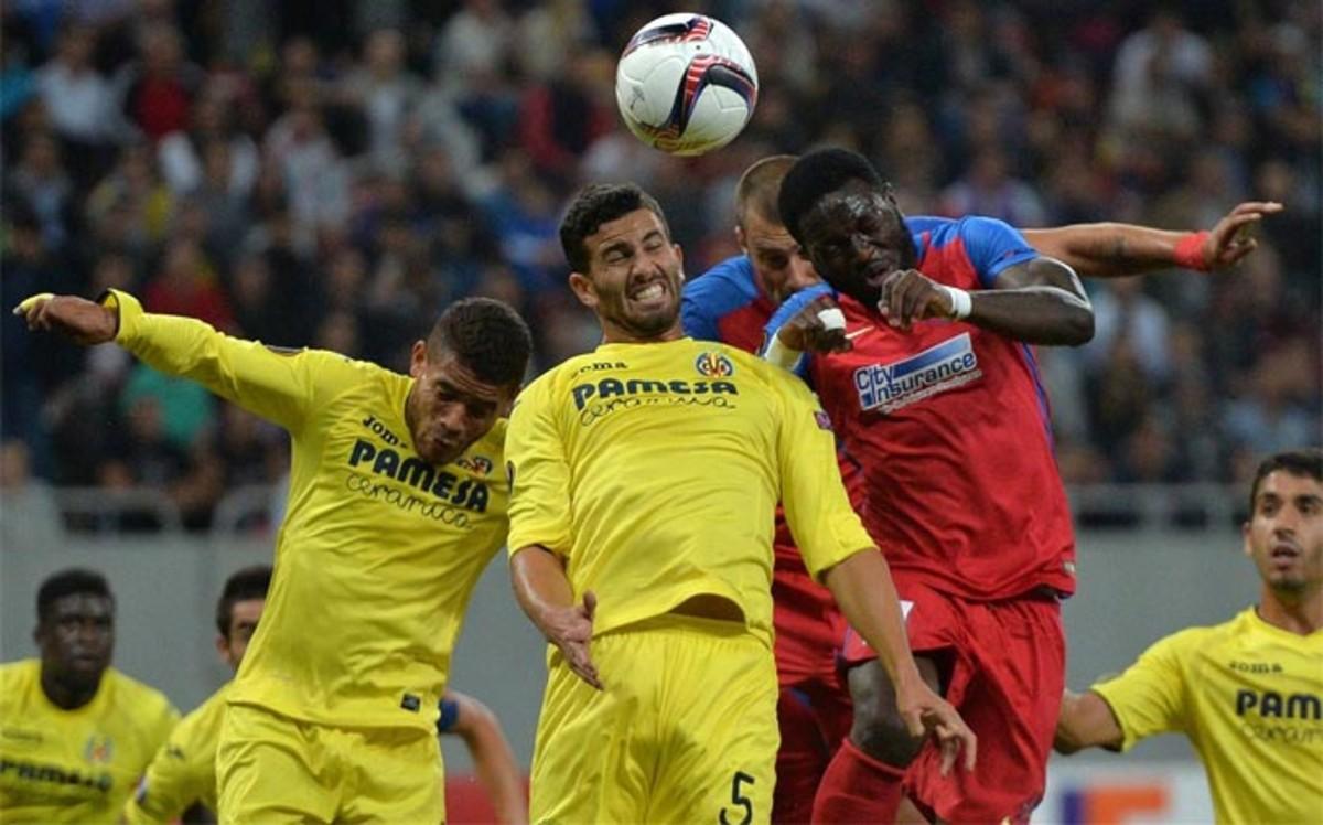 Resultado de imagen de Steaua 1-1 Villarreal