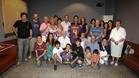 El día de su presentación estuvo rodeado de toda su familia, a la que ahora puede visitar más frecuentemente