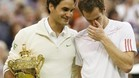 Federer y Murray, tras la final