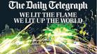 Portada de la edición impresa del The Daily Telegraph