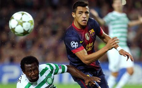 El Barça sigue confiando en el potencial de Alexis