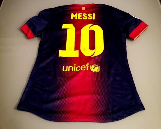El Shaarawy mostró la camiseta que le dio Leo Messi | Foto: | @OfficialEl92