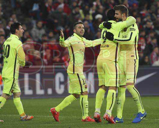 صور : مباراة أتليتيكو بلباو - برشلونة  2-5 ( 08-02-2015 ) 1423435823578