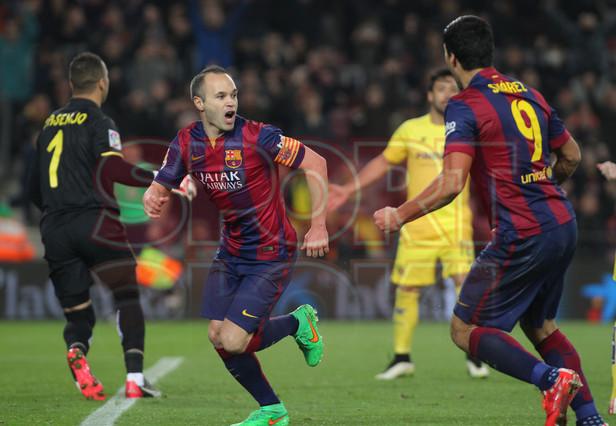 صور : مباراة برشلونة - فياريال 3-1 ( 11-02-2015 ) 1423690228278