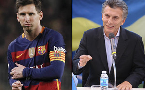 Macri disfruta viendo a Messi todos los domingos