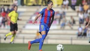 Jennifer Hermoso quiere ganar títulos con el Barça