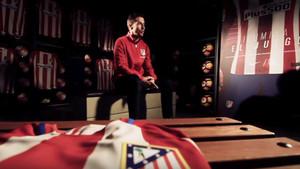 Gabi Fernández, capitán del Atlético de Madrid