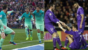 Barcelona vs Madrid for the title