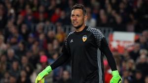 Diego Alves encajó cuatro goles el pasado domingo en el Camp Nou