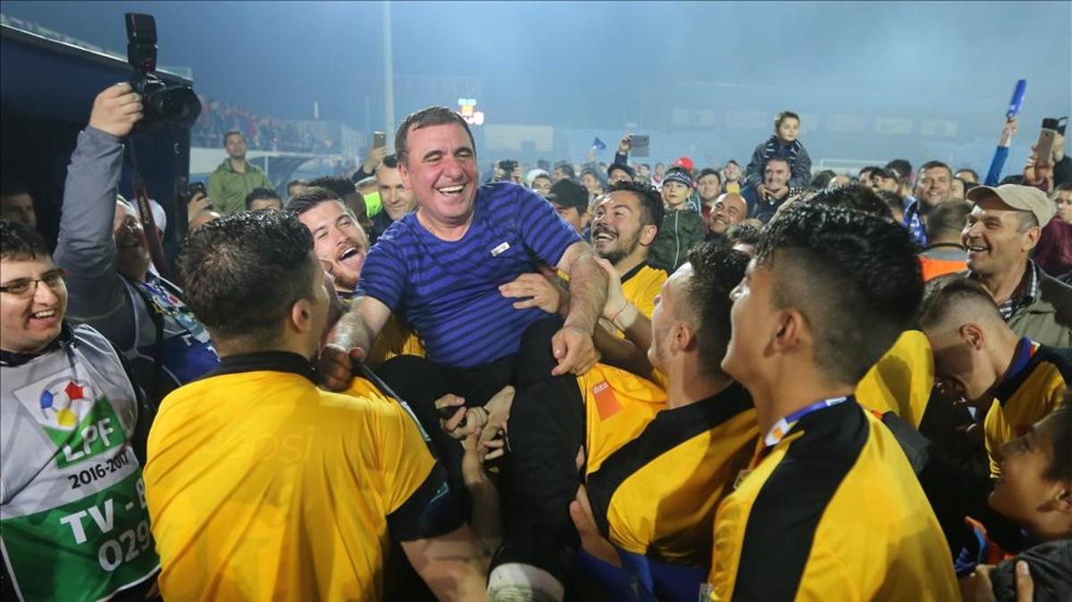 Viitorul Costanza, fundado por Hagi, nuevo campeón de Rumanía