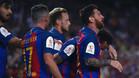 Messi volvió a ser el futbolista más decisivo del Barça y sentenció la final en la primera parte