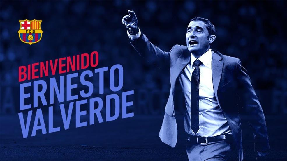 Bartomeu confirma a Valverde como nuevo entrenador del FC Barcelona (ES)