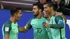 Cristiano Ronaldo marcó el gol que le bastó para ganar a Portugal