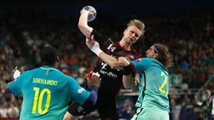 Palmarsson ha dado más de un problema al Barça como jugador del Veszprem