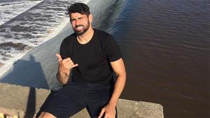 Diego Costa, en una imagen publicada en Instagram
