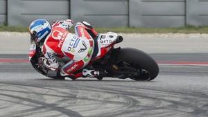 Michelle Pirro, con la Ducati