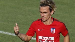El Atlético pierde a su gran estrella, Antoine Griezmann, en los próximos dos partidos