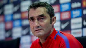 Valverde fue cuestionado por la crisis del Real Madrid