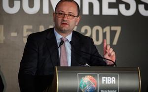 Patrick Baumann, presidente de la FIBA