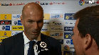 Zidane: Recado a la defensa y explicaci�n del cambio de Cristiano