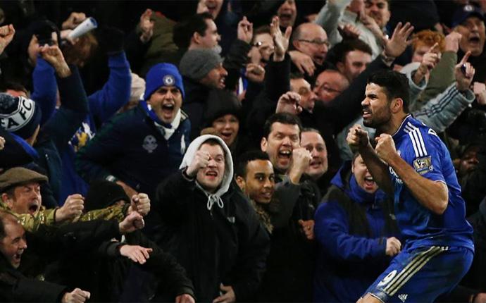 Chelsea y Manchester United se reparten las penas
