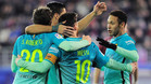 El Barça sigue al acecho del Madrid... a pesar de los árbitros