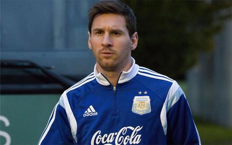 Leo Messi se qued� en el hotel