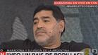 Maradona amenaz� a la selecci�n argentina