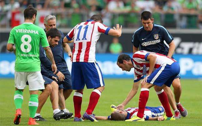 Benturan Keras, Suarez Cedera Otak Berat - berita Liga Spanyol Xtra Time