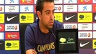 Xavi: \&#34;Soy partidario de cambiar pocas cosas\&#34;