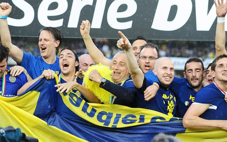 El Hellas Verona regresa a la Serie A