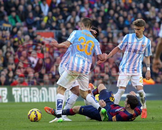 صور : مباراة برشلونة - ملقا  0-1 ( 21-02-2015 )  1424541166288