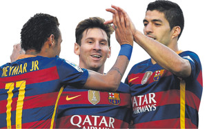 Messi-Neymar-Suárez, el mejor tridente de la historia