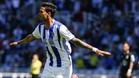 Willian Jose celebra el gol conseguido, su décimo tanto en el campeonato