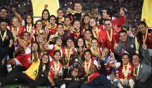 Santa Fe ganó la primera liga femenina en Colombia