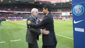 El PSG vuelve a apostar por Luis Fernández