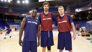 Sanders, Tomic y Vezenkov se integraron a la disciplina del nuevo Barça de Sito Alonso