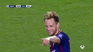 Ivan Rakitic ha logrado el segundo tanto del Barça