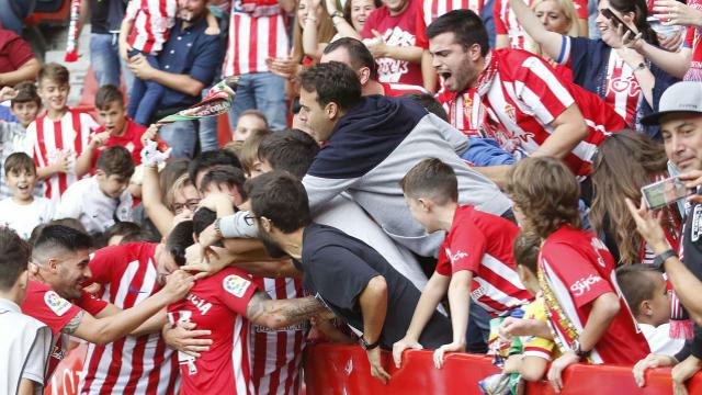 LALIGA 123 | Sporting-Lorca (1-0)