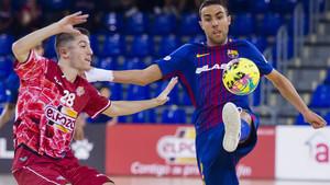 El Barça cayó ante El Pozo en el Palau