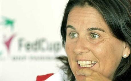 Conchita nos explica el d�a a d�a de una capitana en un Grand Slam