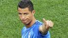 Cristiano Ronaldo, a punto