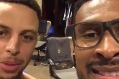 Curry y Barbosa felicitaron a Neymar